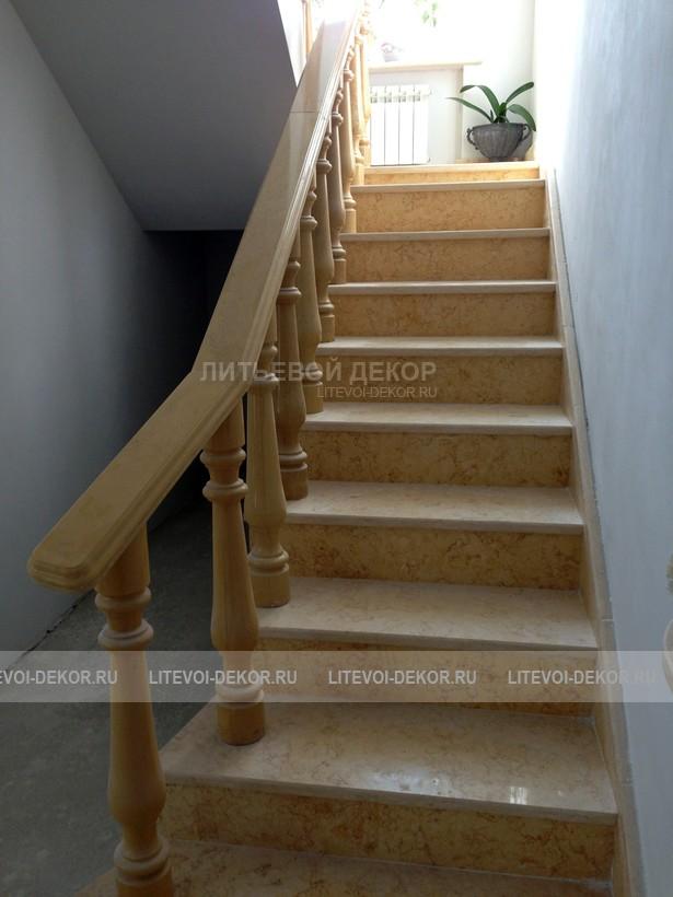 Лестницы из дуба, бука и ясеня, ступени