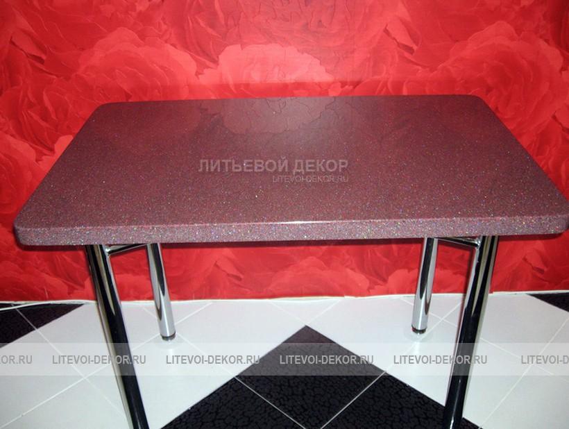 Обеденный стол из столешницы для кухни mk161.ru.